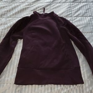 Lululemon pullover purple zip sweatshirt sz4